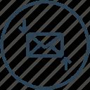 download, email, envelope, inbox, letter, mail, upload