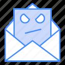 email, malware, virus icon