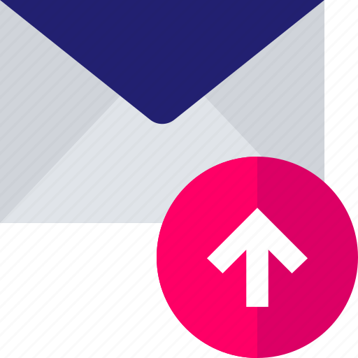 arrow, point, send, up, upload icon