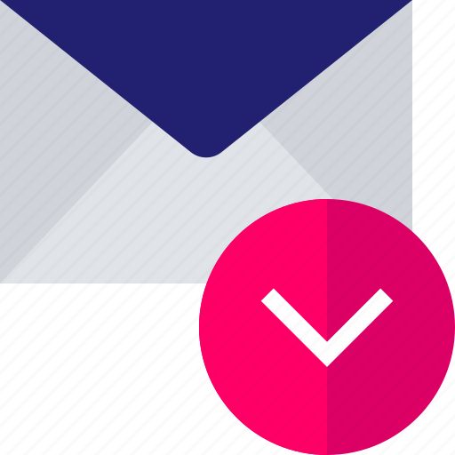 attachment, download, email, envelope, mail icon