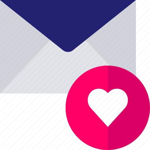 email, favorite, guardar, hear, mail, save icon