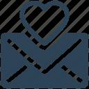 email, mail, inbox, envelope, letter, favorite, love letter