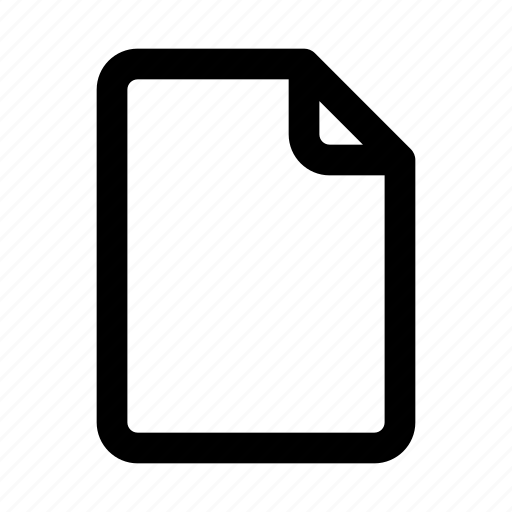 File, document icon - Download on Iconfinder on Iconfinder