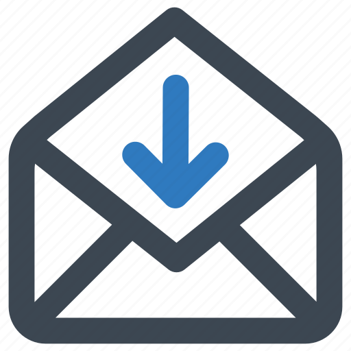 download, email, mail icon