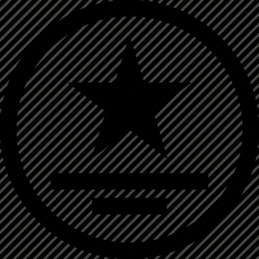 online, star, web icon