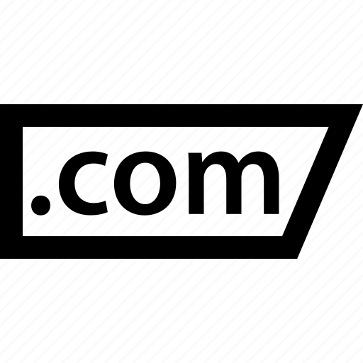 com, domain, extension, name icon