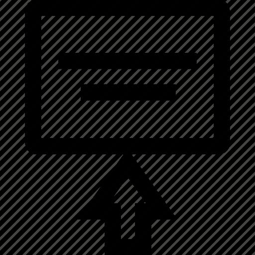 arrow, up, upload, youtube icon