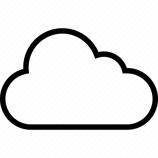 business, cloud, save icon