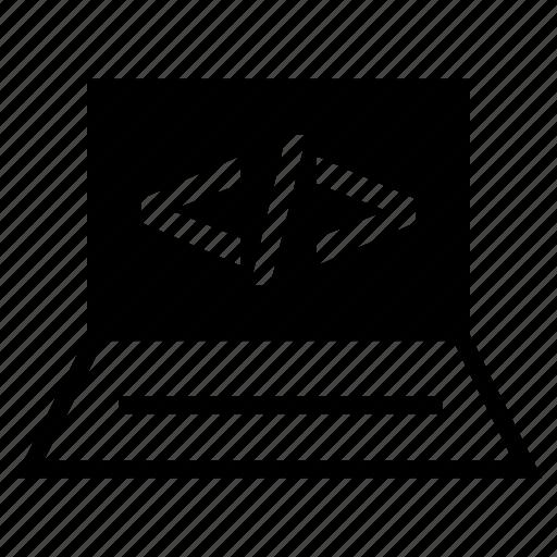 code, development, script icon