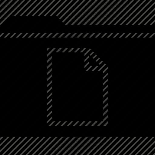 archive, file, folder, page icon