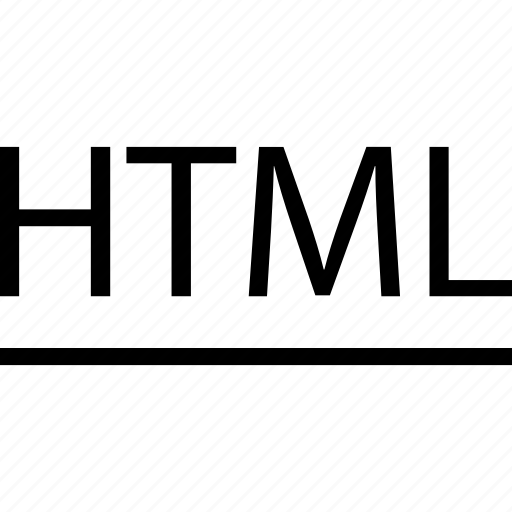 Coding, html, line icon - Download on Iconfinder