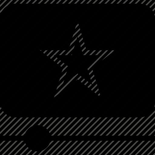 progress, star, youtube icon