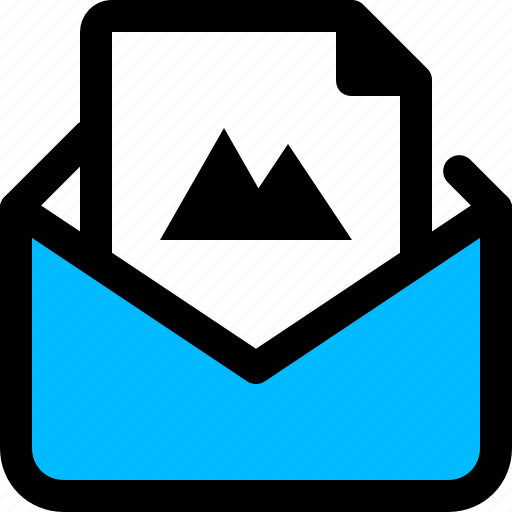 email, image, message, photo icon