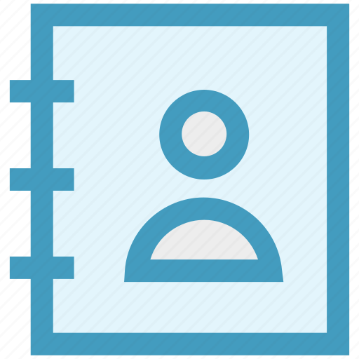 Address book, book, contact, contacts book, phone icon - Download on Iconfinder