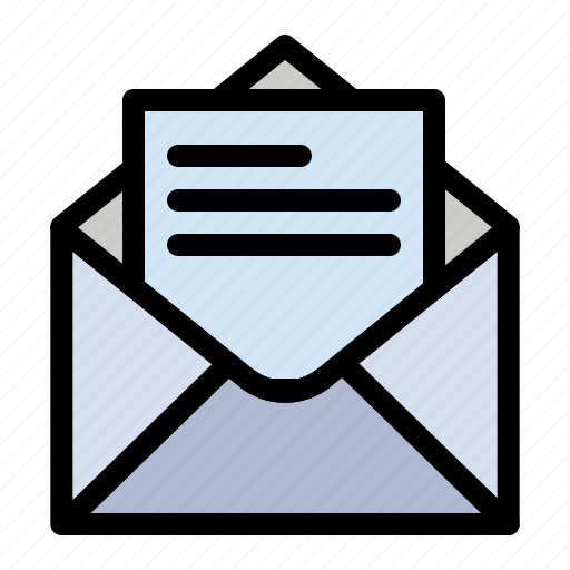 Email, mail, message, text icon - Download on Iconfinder