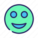 chat, communication, email, emoji, mail, message, smile icon