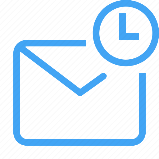 email, envolpe, letter, mail, message, pending icon