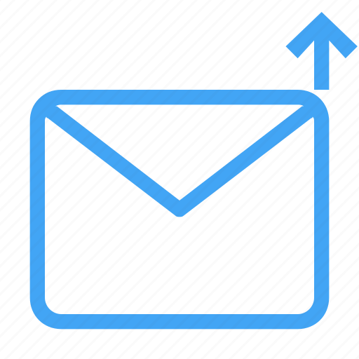 email, envelope, letter, mail, message, up icon