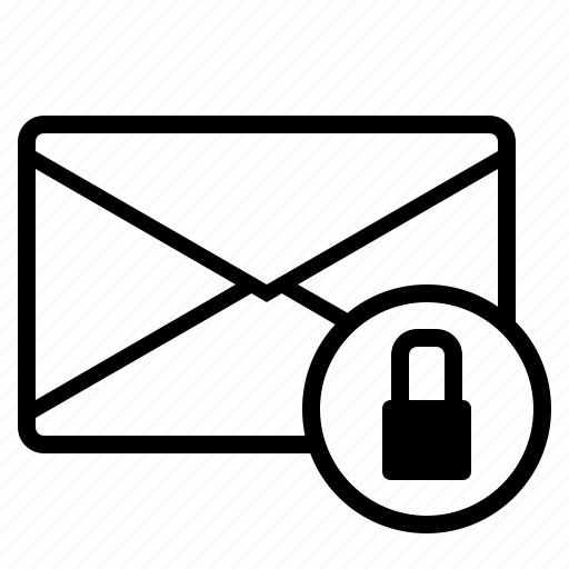 email locked, emails, lock email, locked, locking mail, mail, mail locked icon