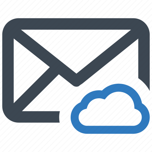 cloud, email, share, storage icon