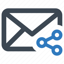 email, mail, share, sharing icon