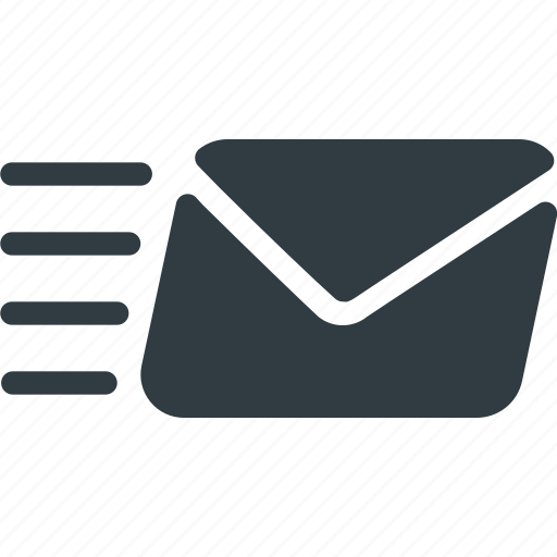 delivery, email, fast, mail, send icon