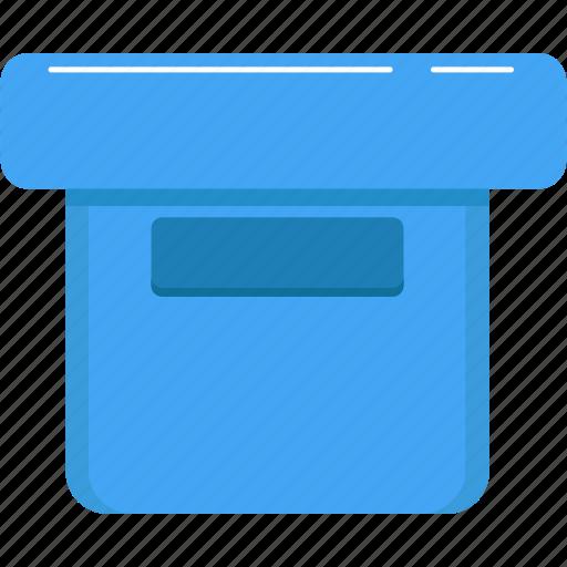 archive, box, data storage, file storage, storage, storage box icon