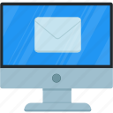 email, file, inbox, mail, received, tool, tray icon