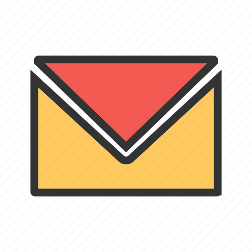 communication, envelope, letter, mail, newsletter, post, send icon