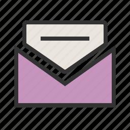 communication, envelope, letter, mail, newsletter, post, send icon