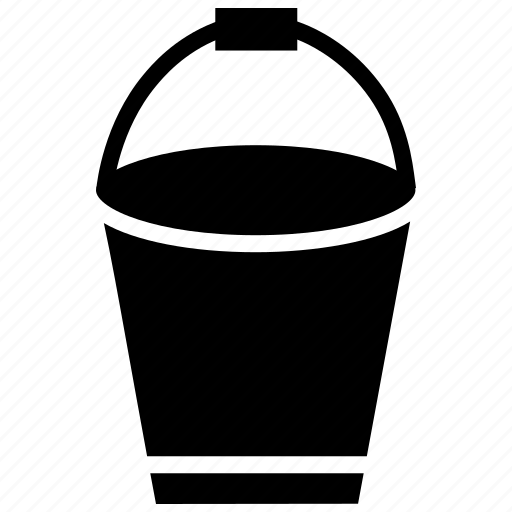 Bucket, emergency, sand bucket, water icon - Download on Iconfinder