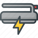 ambulance, defibrillator, electric, emergency icon