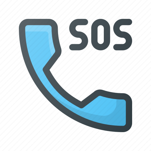 call, emergency, help, phone, sos icon