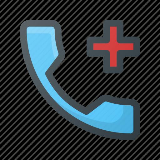 call, emergency, help, phone, sos icon