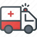 ambulance, emergency, help icon