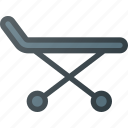 emergency, help, stretcher icon