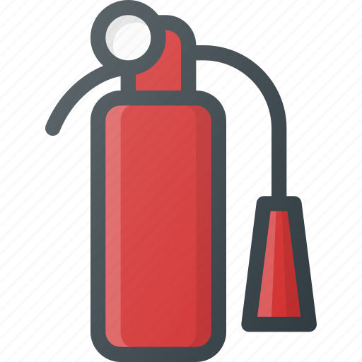 extinguisher, fast, fire, help icon
