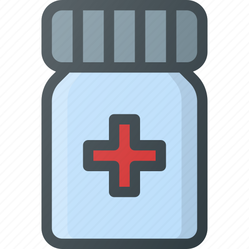 morphine, painkiller, pill icon