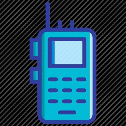 communication, investigation, radio, transceiver, walkie talkie icon