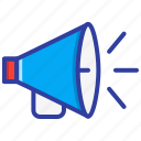alert, emergency, megaphone, promotion, speaker