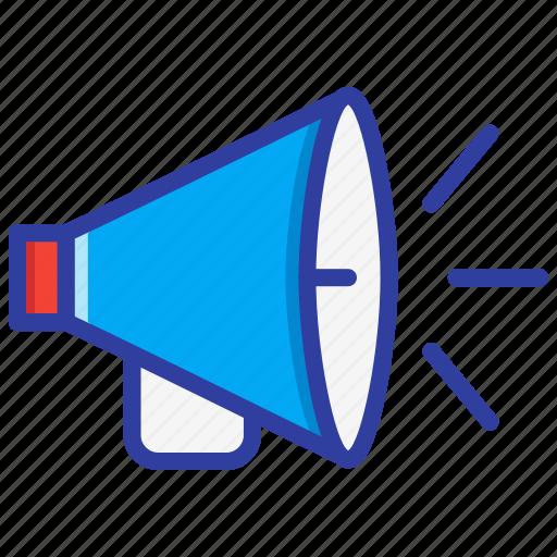 Alert, emergency, megaphone, promotion, speaker icon - Download on Iconfinder