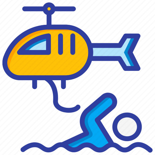 Emergency, helicopter, rescue, safety icon - Download on Iconfinder