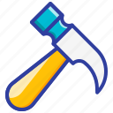break, fire safety, glass hammer, safety, tool