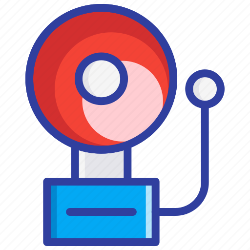 Alert, bell, fire alarm, fire safety, safety icon - Download on Iconfinder