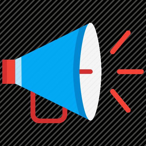 alert, emergency, megaphone, promotion, speaker icon