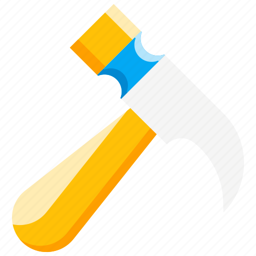 break, fire safety, glass hammer, safety, tool icon