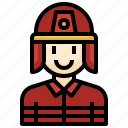 firefighter, professions, people, man, user