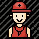 lifeguard, people, user, security, man
