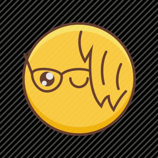avatar, character, emoji, emoticon, emotion, emotions icon