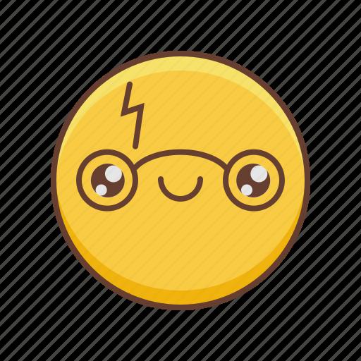 characters, emoji, emotions, kawaii icon